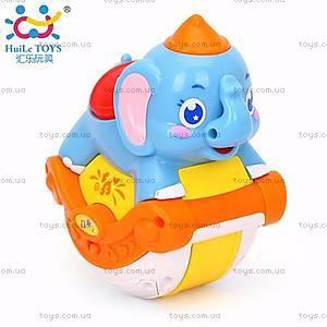 Игрушка Huile Toys «Музыкальный слоник», 3105C, купить