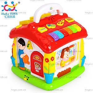 Интерактивная игрушка «Обучающий домик», 656, купить