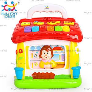 Интерактивная игрушка «Обучающий домик», 656, фото