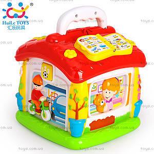 Интерактивная игрушка «Обучающий домик», 656