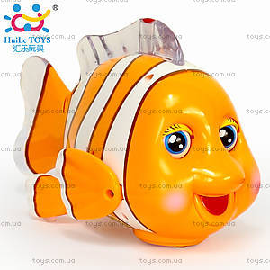 Музыкальная игрушка «Рыба-клоун», 998