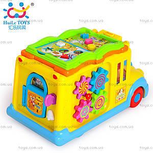 Игрушка Huile Toys «Школьный автобус», 796, цена