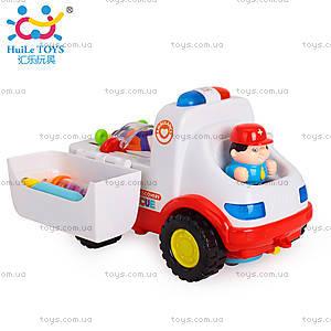 Машинка Huile Toys «Скорая помощь», 836, купить