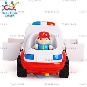 Машинка Huile Toys «Скорая помощь», 836, фото
