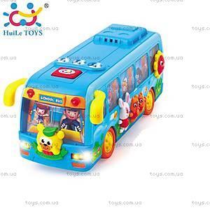 Игрушка Huile Toys «Танцующий автобус», 908