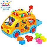 Игрушка Huile Toys «Веселый автобус», 988, фото