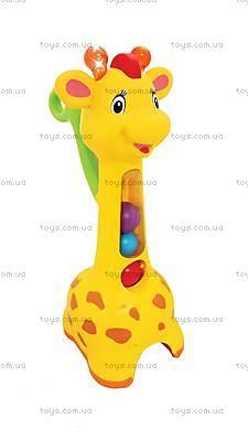 Игрушка-каталка «Аккуратный жираф», 052365