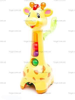 Игрушка-каталка «Аккуратный жираф», 052365, купить
