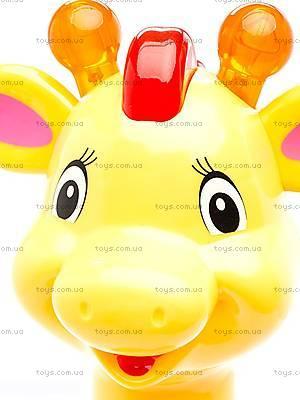 Игрушка-каталка «Аккуратный жираф», 052365, фото
