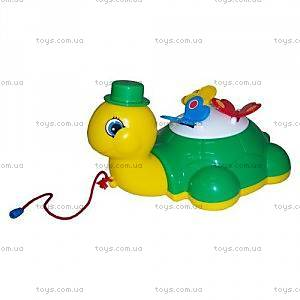 Игрушка-каталка «Черепашка Глаша с бабочками», 9172
