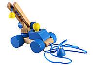 Игрушка-каталка «Паровозик», Ду-01с, фото