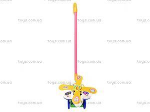 Игрушка-каталка с палочкой «Вертолет», 234, игрушки