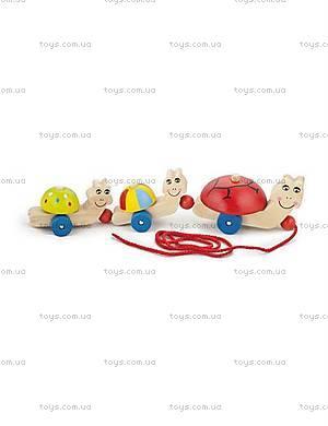 Детская игрушка-каталка «Черепашки», 59949