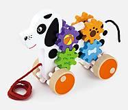 Игрушка-каталка Viga Toys «Щенок», 50977, фото