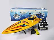 Игрушка катер с управлением, MX-0008-8, фото