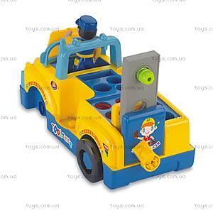 Игрушка-конструктор «Машинка с инструментами», 789, фото
