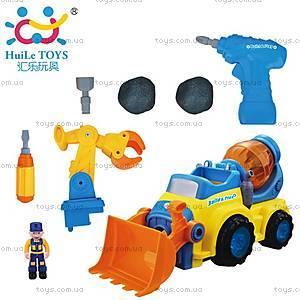 Игрушка-конструктор «Строительная машина», 566CD