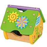 Игрушка-конструктор Viga Toys «Веселый домик», 59485, фото