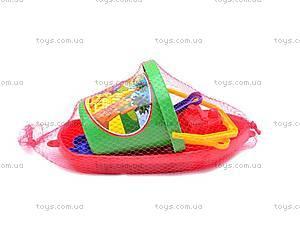 Песочный набор для детей «Кораблик», 2889
