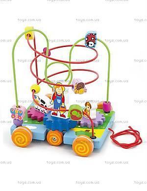 Игрушка лабиринт для детей «Машинка», 50120
