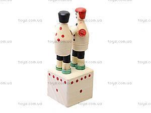 Деревянная игрушка «Парочка», 171880, цена