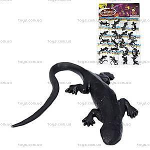 Игрушка-лизун «Черная ящерица», PR613, купить