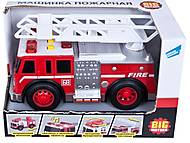 Игрушка «Машина пожарная с брандсбойтом», 2018-1AB-2