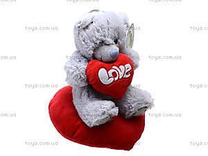 Игрушка «Медведь Тедди» с сердечком, AB8737B, купить