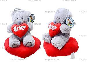 Игрушка «Медведь Тедди» с сердечком, AB8737B