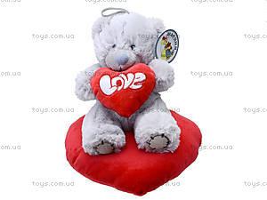 Игрушка «Медведь Тедди» с сердечком, AB8737B, отзывы