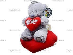 Игрушка «Медведь Тедди» с сердечком, AB8737B, цена