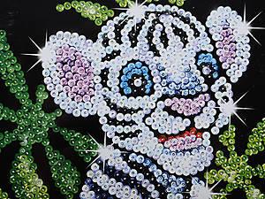 Игрушка Мозаика блестками «Белый тигр», 0906-KSG, отзывы