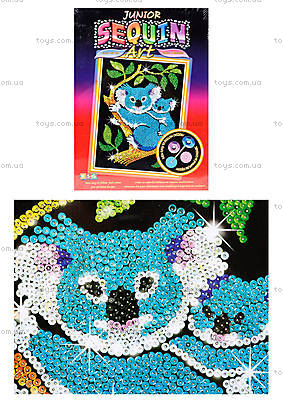 Игрушка Мозаика блестками «Коала», 0712-KSG