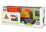 Игрушка MULTIGO «Грузовик с платформой и кубиками», 27054, игрушки
