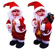 """Игрушка музыкальная """"Дед Мороз с подарком"""" 26см 2 вида, 1238-12, купить"""