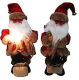 """Игрушка музыкальная """"Дед Мороз с подарком"""" 30см 2 вида, 1347-12"""