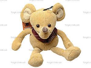 Мягкая игрушка «Мышка», L79236-AW, игрушки