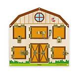 Игрушка настенная бизиборд Viga Toys «Открой замок», 51627, отзывы