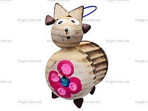 Деревянная новогодняя игрушка на елку, 171812, цена