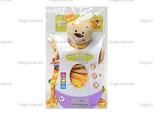 Игрушка-обнимашка «Мишка Тихоня», MK4101-01, купить