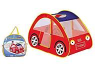 Игрушка-палатка «Машинка», 8016, отзывы
