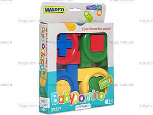 Развивающая игра «Детское домино» Тигрес, 39357, фото