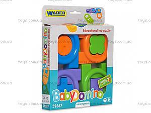 Развивающая игра «Детское домино» Тигрес, 39357, цена