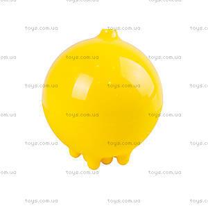 Игрушка плюи для игры в ванной, желтый, 43020