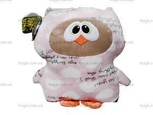 Игрушка-подушка «Сова Софтик», К409А, фото