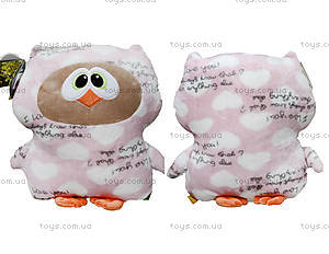 Игрушка-подушка «Сова Софтик», К409А