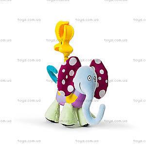 Игрушка-подвеска на прищепке «Дрожащий слоник», 11755