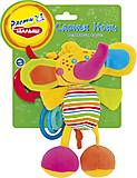 Игрушка-подвеска со звуковыми эффектами «Слоник Ноки», SDS0\M, toys.com.ua