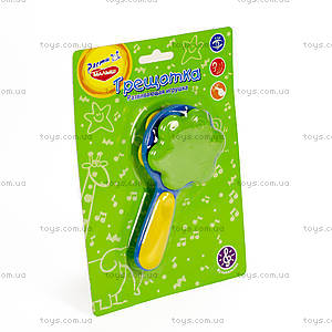 Игрушка-погремушка для детей «Трещотка», WD3307B