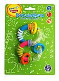 Игрушка-погремушка «Восьмёрка», WD3308B, купить